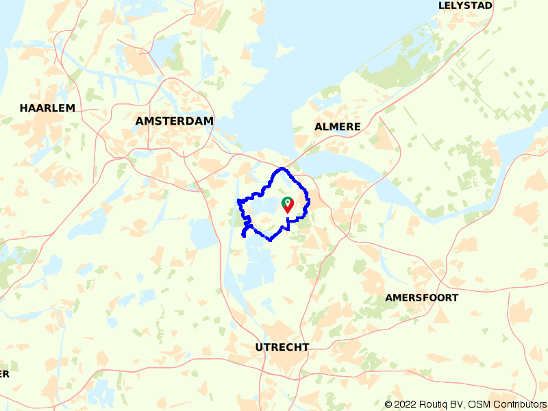 Oer-Hollandse fietstocht rondom Ankeveen