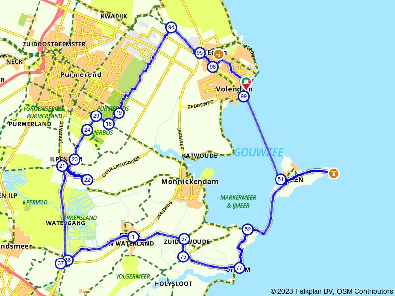 Fietsen door de hotspots Volendam en Marken