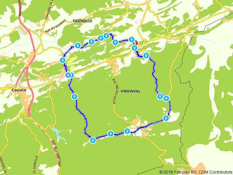 Uitdaging in de Ardennen