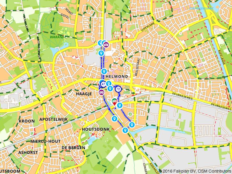 Wandelen langs het kanaal in Helmond