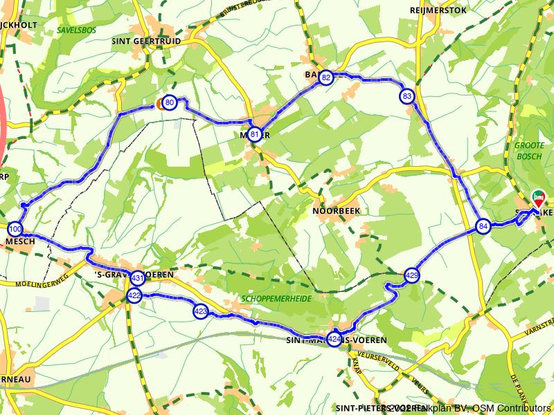 Fietsen in Zuid-Limburg: Gulpen, Slenaken en Mesch