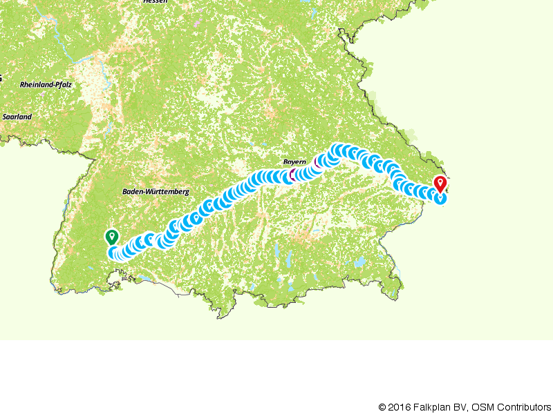 Op de fiets of te voet genieten langs de Donau