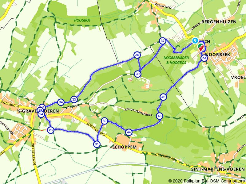 Wandelen bij Noorbeek