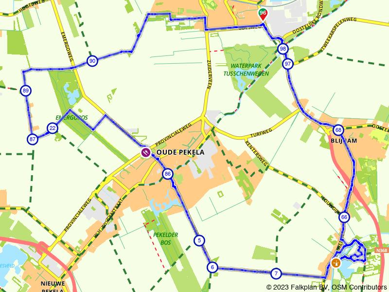 Een fietstochtje door Oost-Groningen