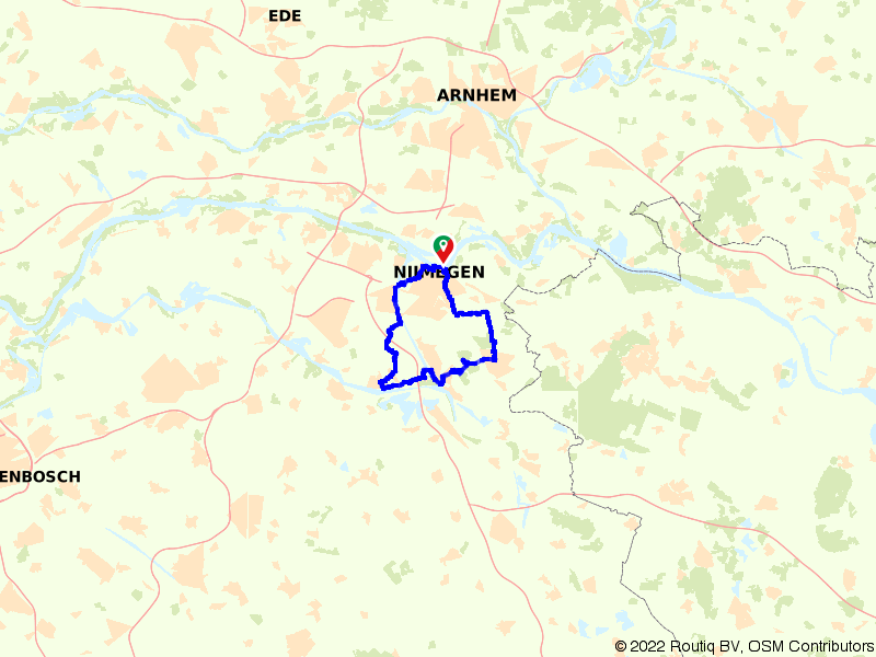 Liberation Route Nijmegen & Berg en Dal