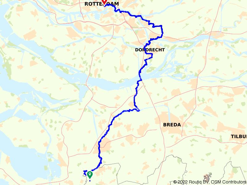 LF2 - Rotterdam-Belgische grens