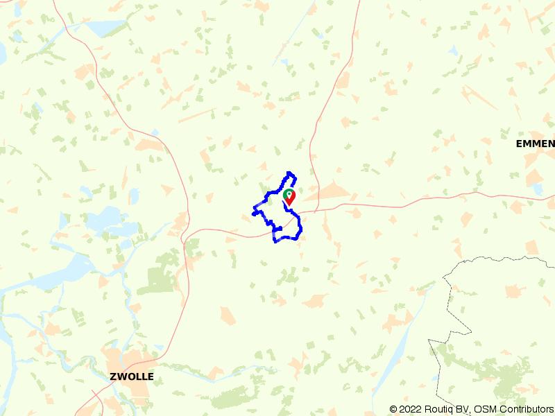 Hoogeveense Vaart - start Echten