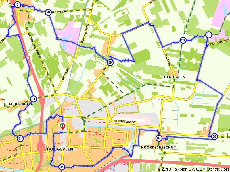Hoogeveense Vaart - start Hoogeveen