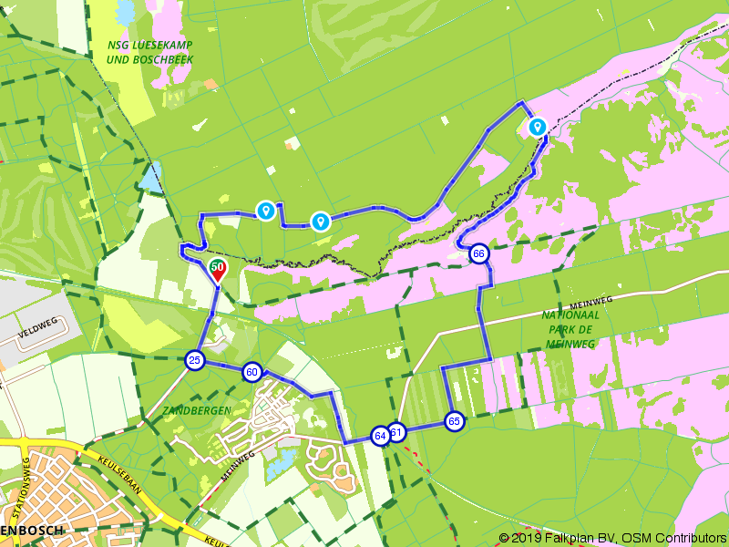 Grensoverschrijdende natuur rondom Herkenbosch