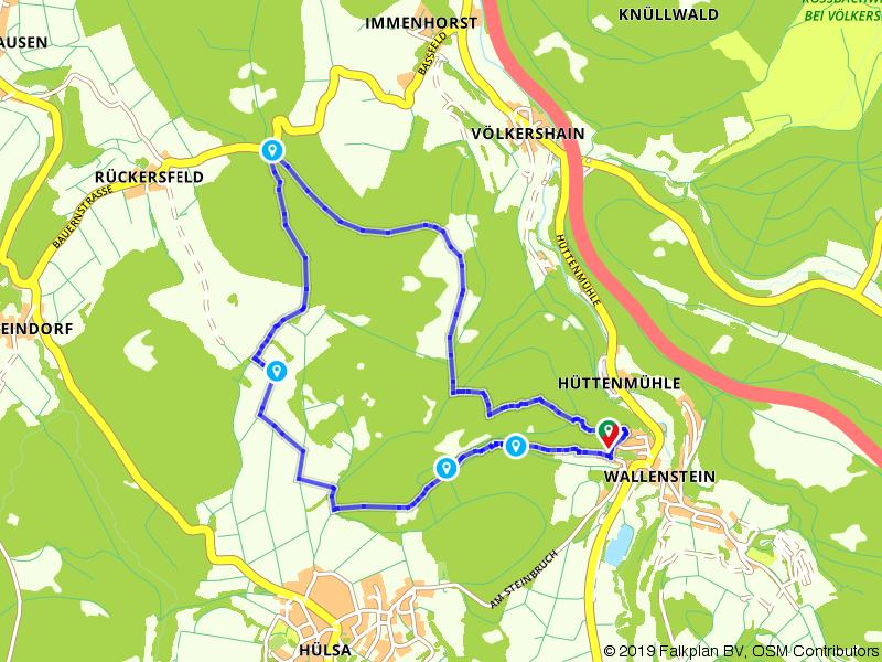 Lochbachpfad - Wildbachschlucht und Blumenwiesen