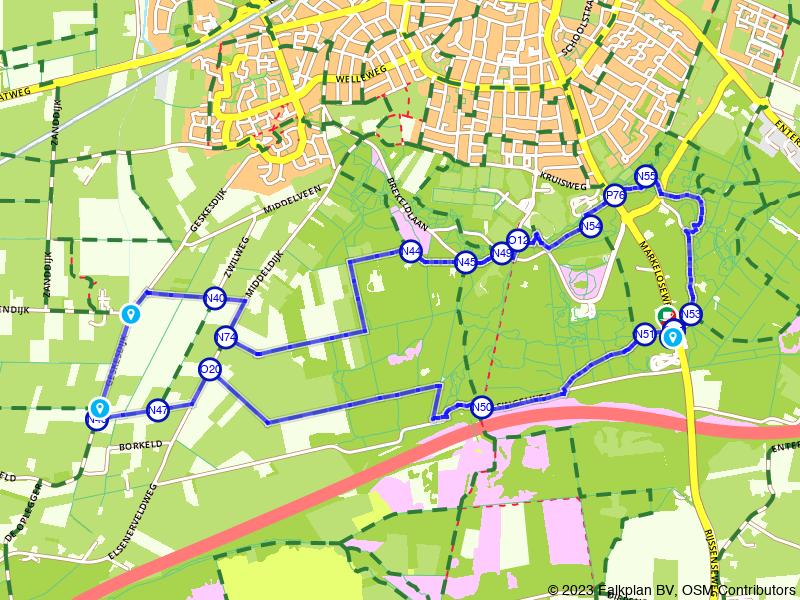 Wandelen door de bossen rondom Rijssen