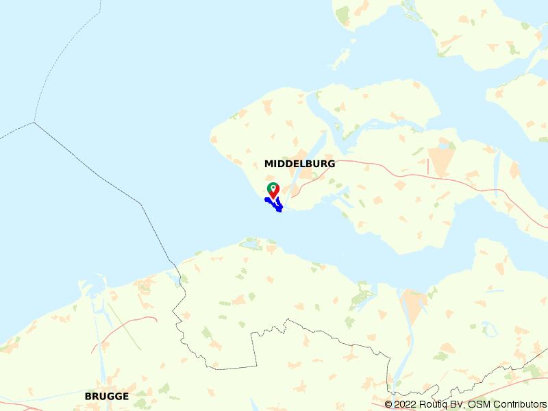 Wandelen langs de Zeeuwse kust in Vlissingen