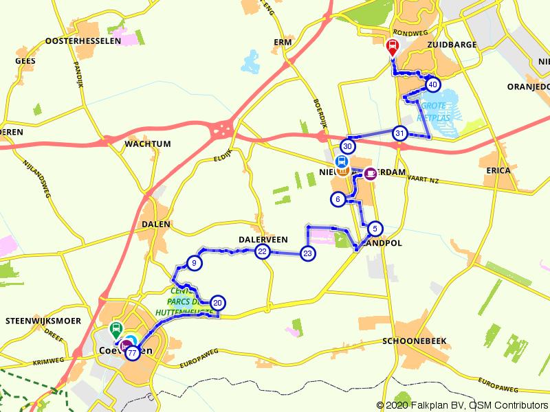 Plassen en heide: van Coevorden naar Emmen