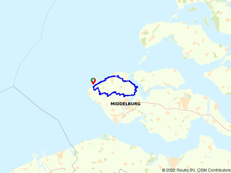 Fietsen van Domburg naar Veere