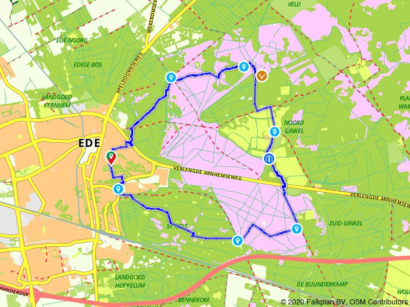 Wandelen over de Ginkelse Heide