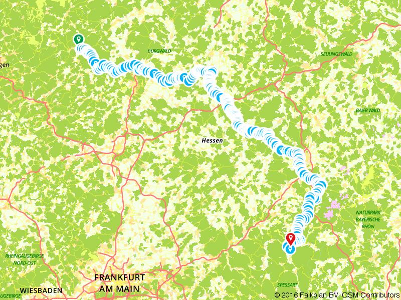 Hessischer Radfernweg R2