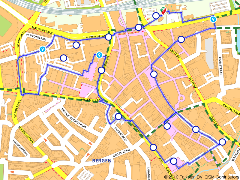 GLOW Eindhoven 2016 - Route City