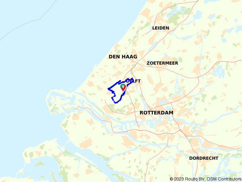 Op de fiets door de polders vanuit Delft