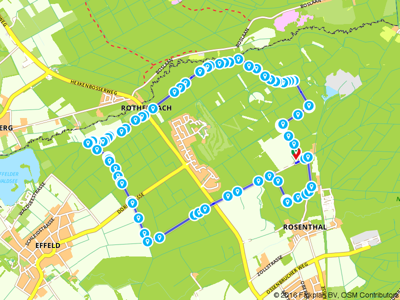 Rurniederungen und Effelder Wald A7