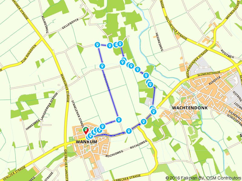 Wachtendonk (Niers und Nette) A3 Langdorf