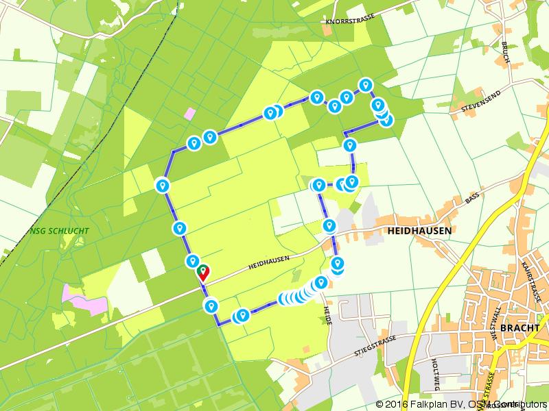 Kaldenkirchen Bracht A7 Vennweg