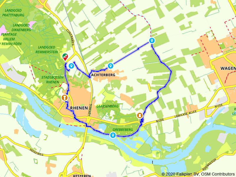 Van de Utrechtse Heuvelrug naar de Grebbeberg