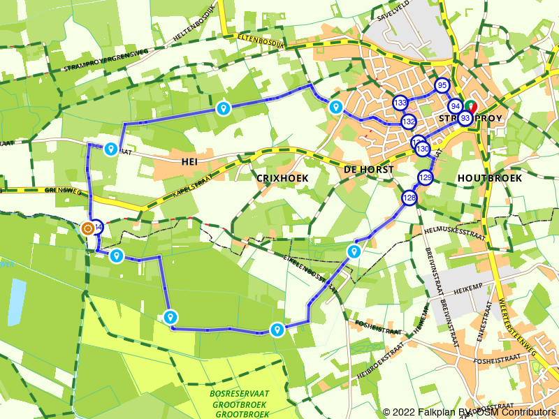 Wandelen door Stramproy en haar bosrijke omgeving