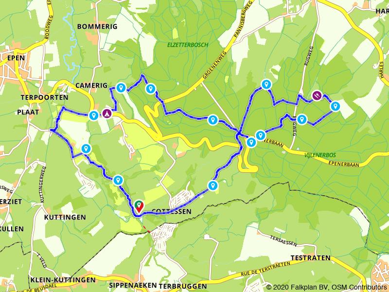 Wandelen door het mooiste landschap van Limburg