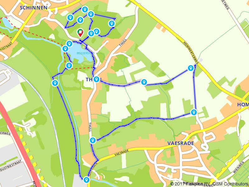 Wandelen door het dal van de Geleenbeek