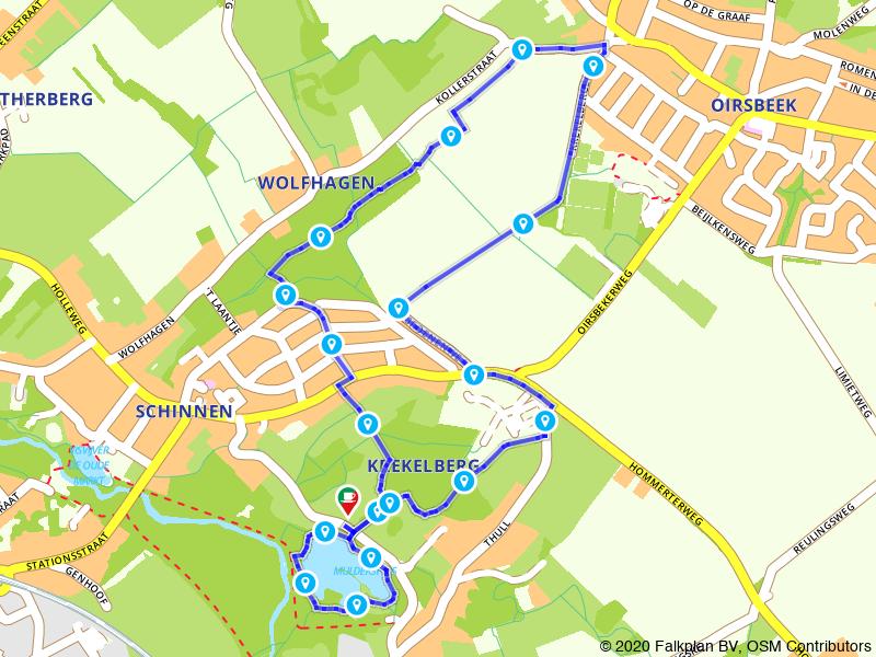 Wandelen in het buitengebied van Hoensbroek