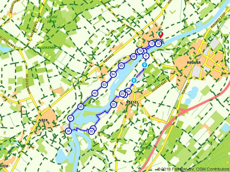 Wandelen langs de Limburgse Maas