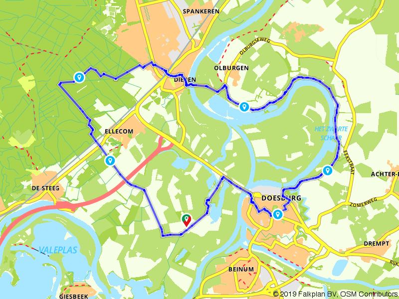 Wandelen door de IJsselvallei