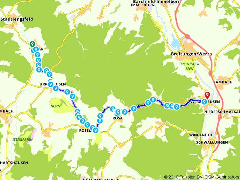 Rostal Radweg