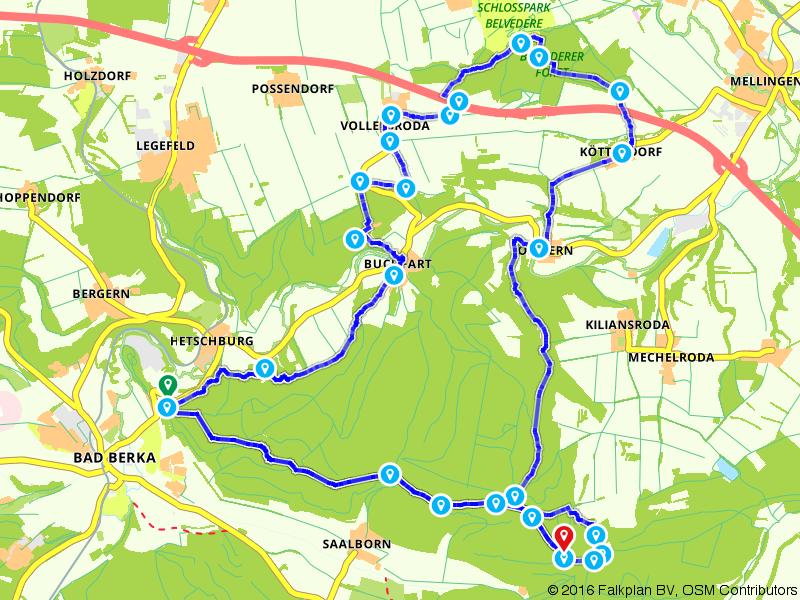 Thüringer Drei-Türme-Weg