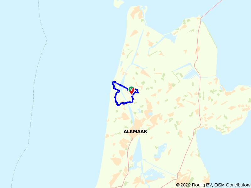 Rondje Friese Omringdijk en Schoorlse Duinen