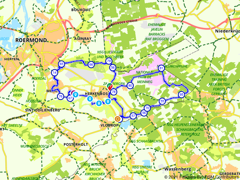 Fietsen door Nationaal Park de Meinweg