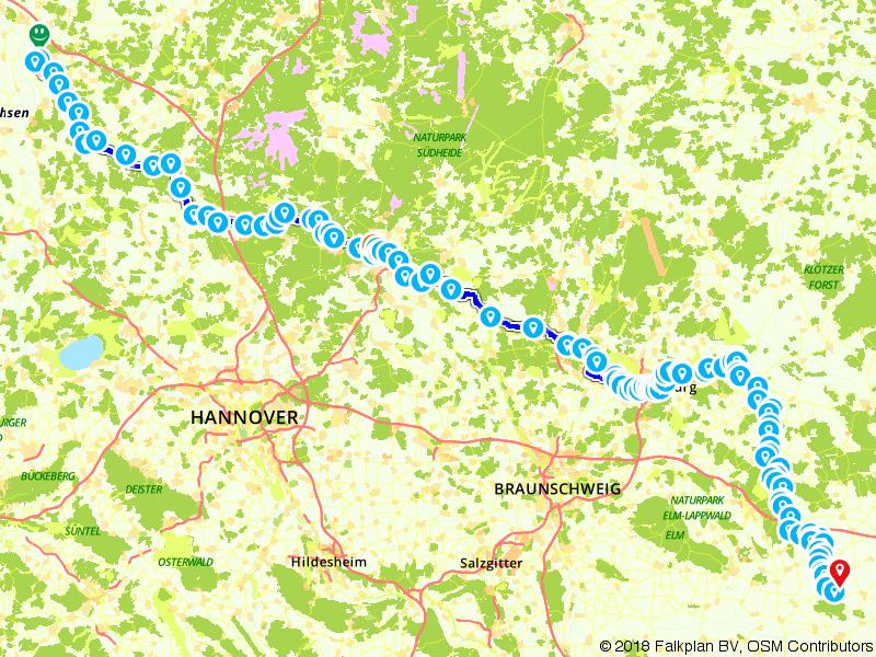 Van Weser naar Elbe langs de Aller