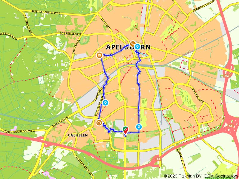 Wandeling papierstad Apeldoorn
