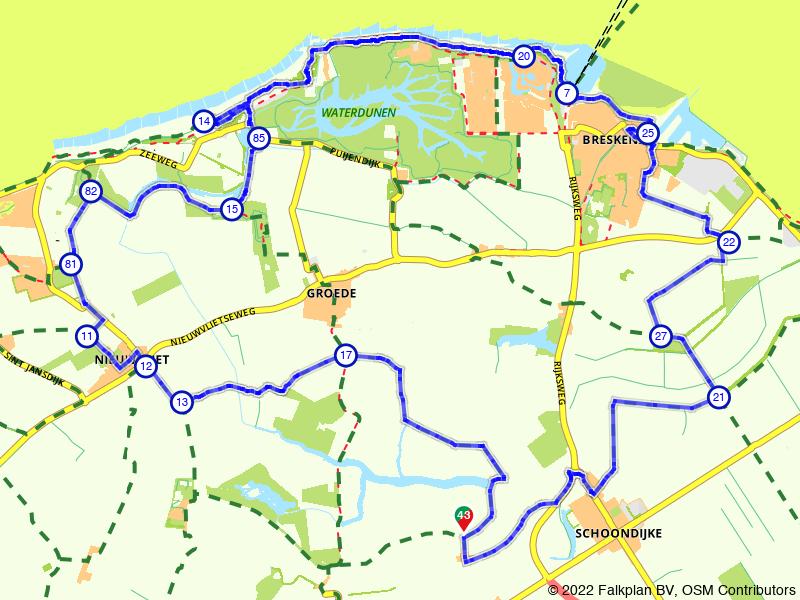 Rondje Zeeuws-Vlaanderen via Breskens
