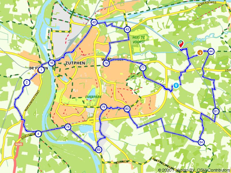 Rondje Zutphen: door Achterhoek en IJsselvallei