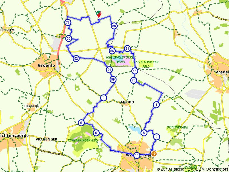 Langs de Duitse grens en het Zwillbrocker Venn