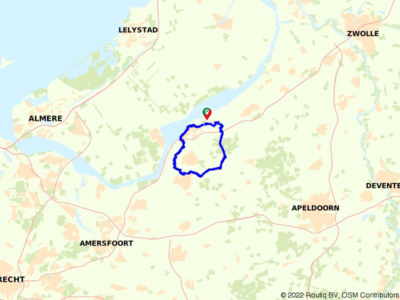 Heerlijk rondje Harderwijk