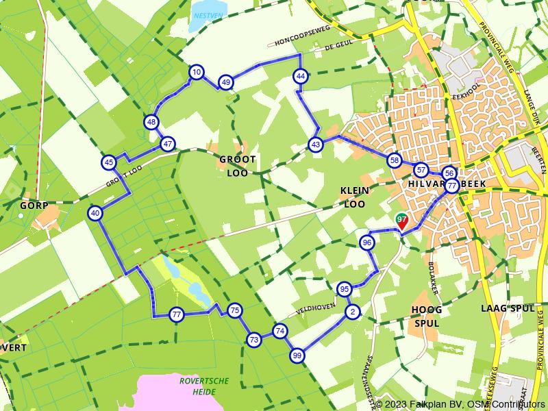 Wandelen rondom historisch en groen Hilvarenbeek