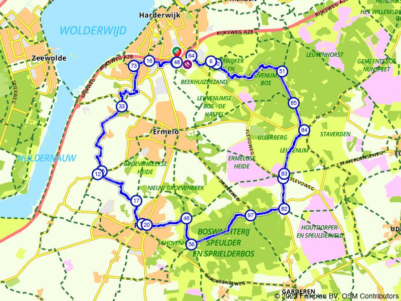 De Veluwe, paradijs voor fietsers