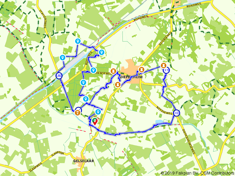Wandelen door het buitengebied van Diepenheim