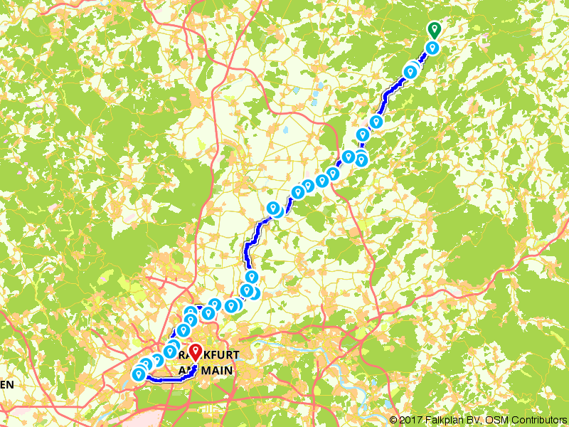Nidda Radweg
