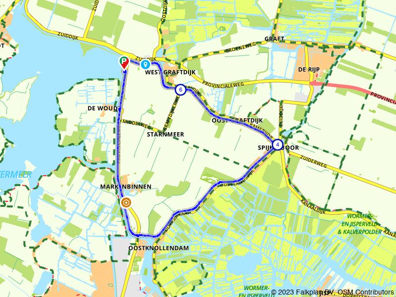 Een prachtige wandeling door de Noord-Hollandse polder