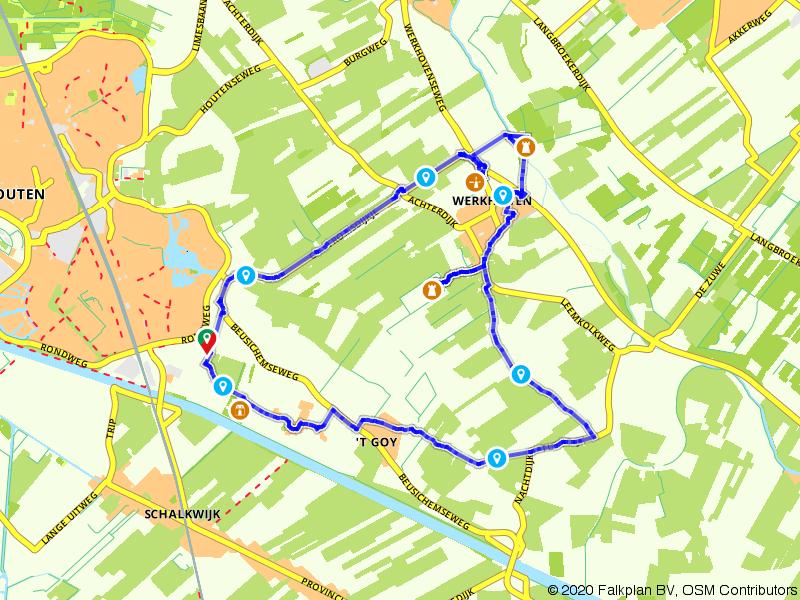 Wandelen door de Kromme Rijnstreek