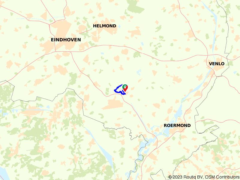 Een mooie wandeling bij Nederweert