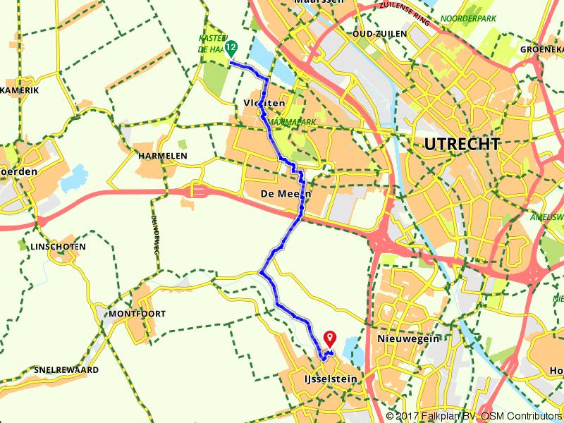 Route door IJsselstein